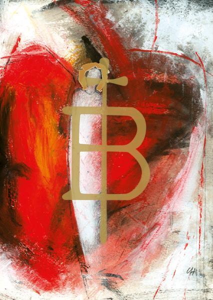 Kunstkarte - Engel der Erquickung