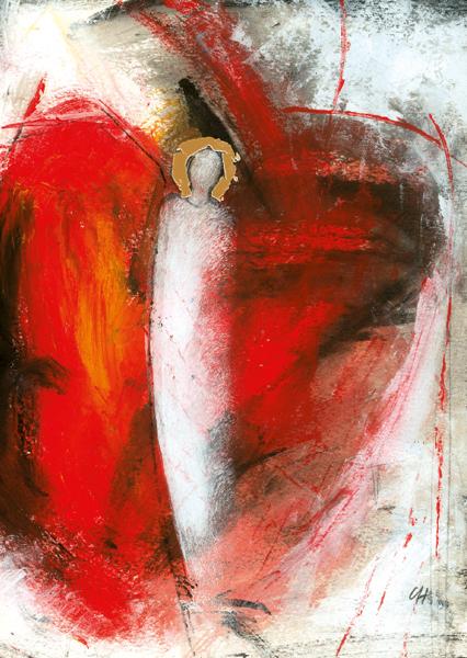 Kunst-Postkarte - Engel der Erquickung