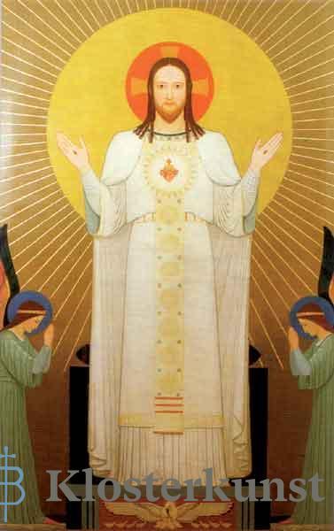 Bildchen - Herz-Jesu-Bild