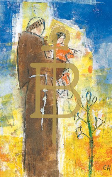 Bildchen - Heiliger Antonius von Padua