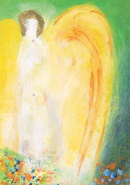 Kunst-Postkarte - Engel des Segens