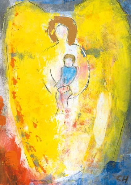 Kunstkarte - Engel der Mütter