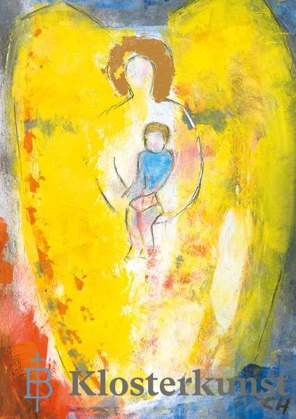 Klappkarte - Engel der Mütter