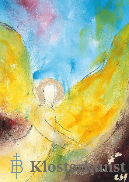 Klappkarte - Engel der Güte