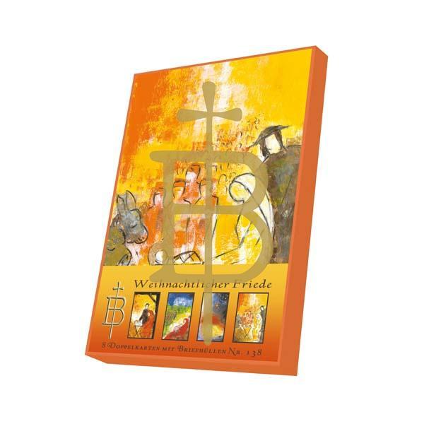 Kartenbox - Weihnachtlicher Friede
