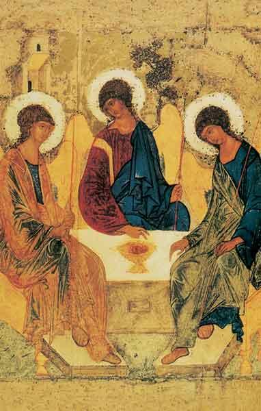Bildchen - Die Heilige Dreifaltigkeit