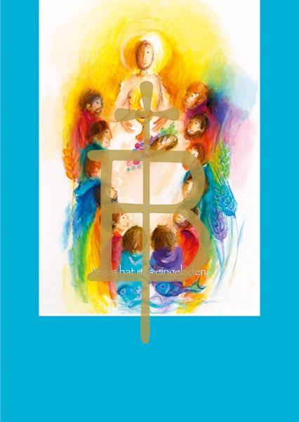 Pfarrbriefmantel - Jesus hat uns eingeladen