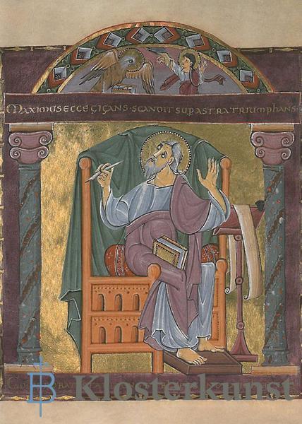 Kunstkarte - Evangelist Johannes