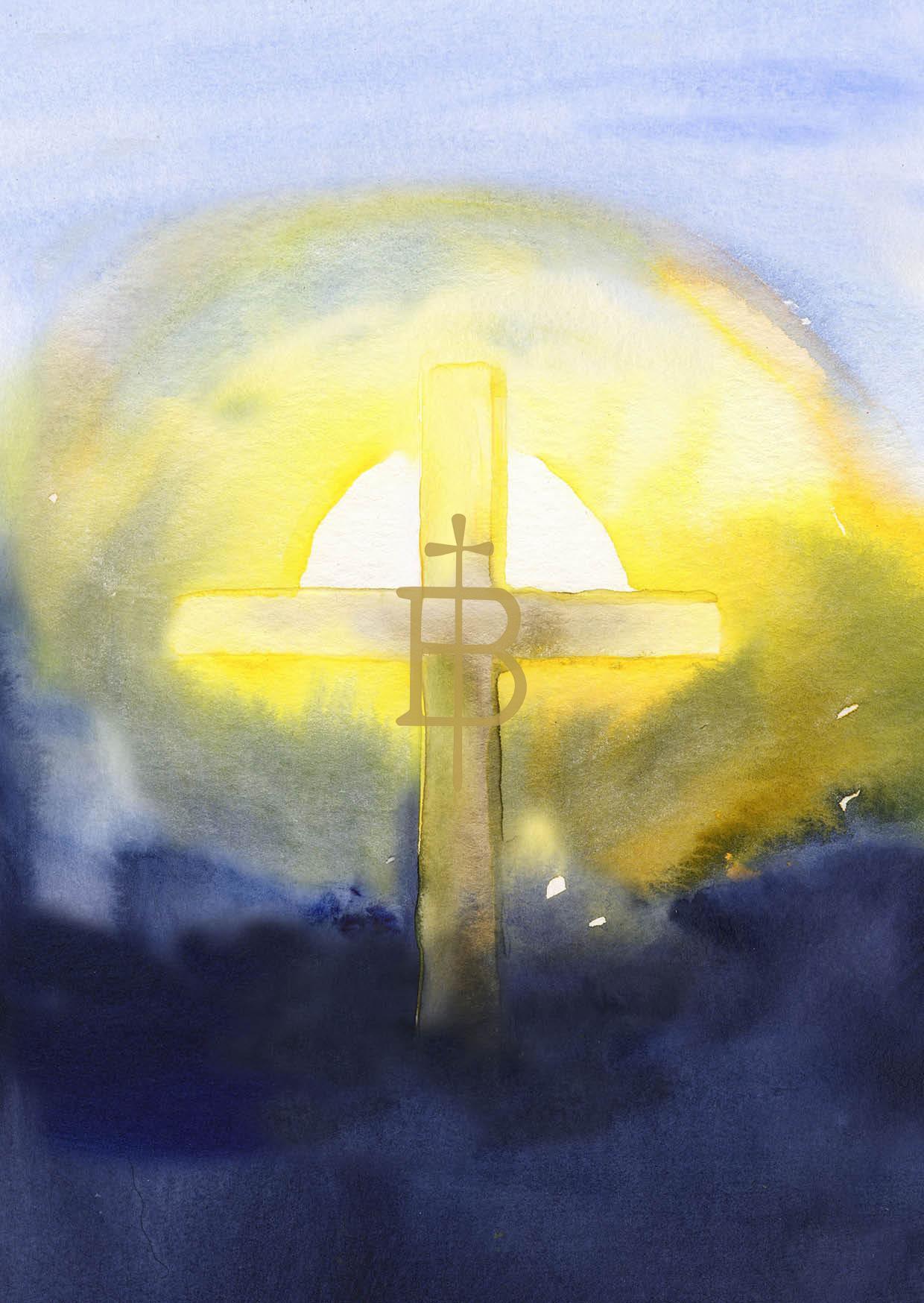 Kunstkarte - Auferstehungslicht