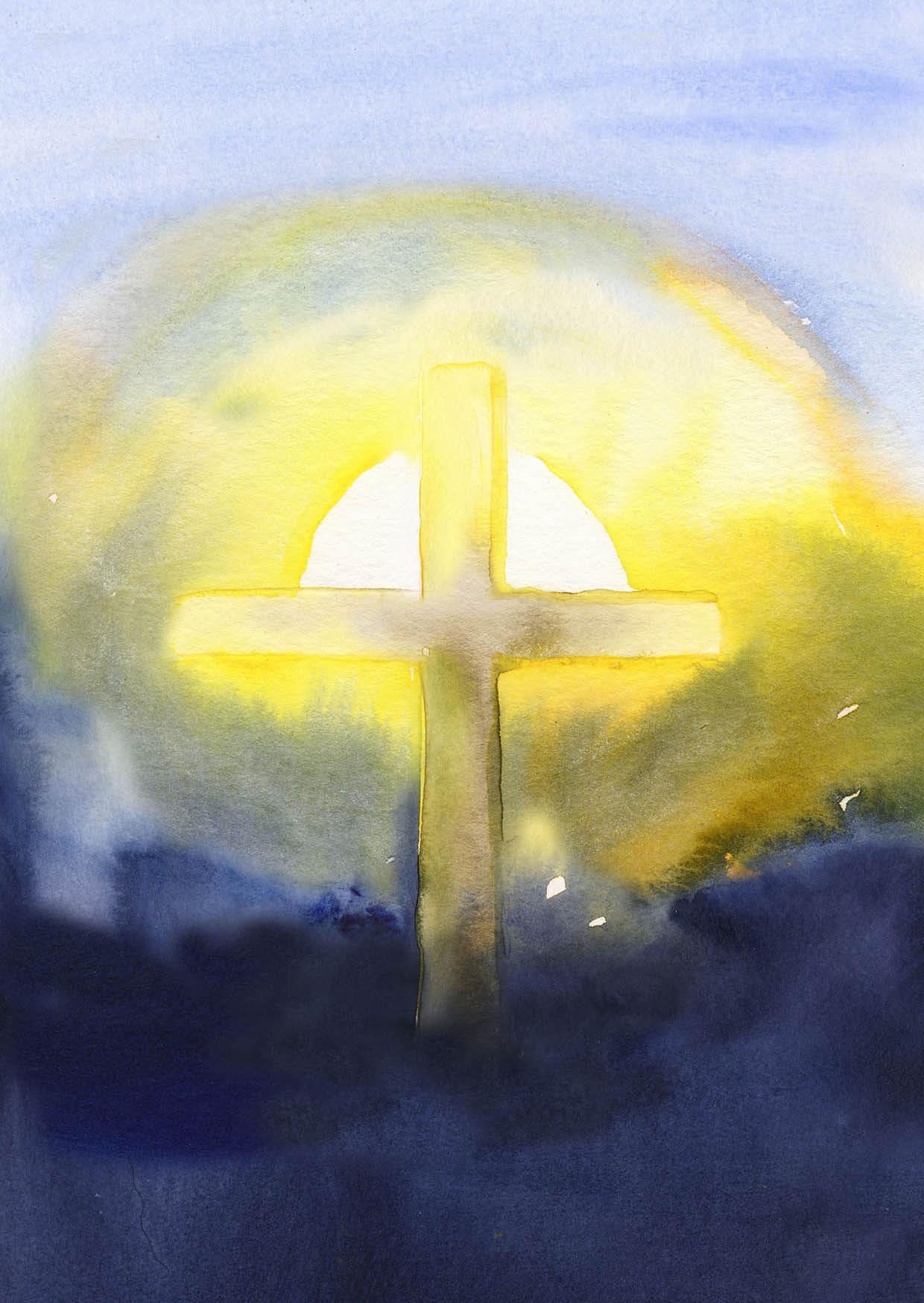 Klappkarte - Auferstehungslicht