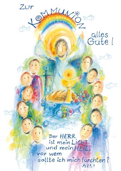 Klappkarte - Jesus gibt mir Licht