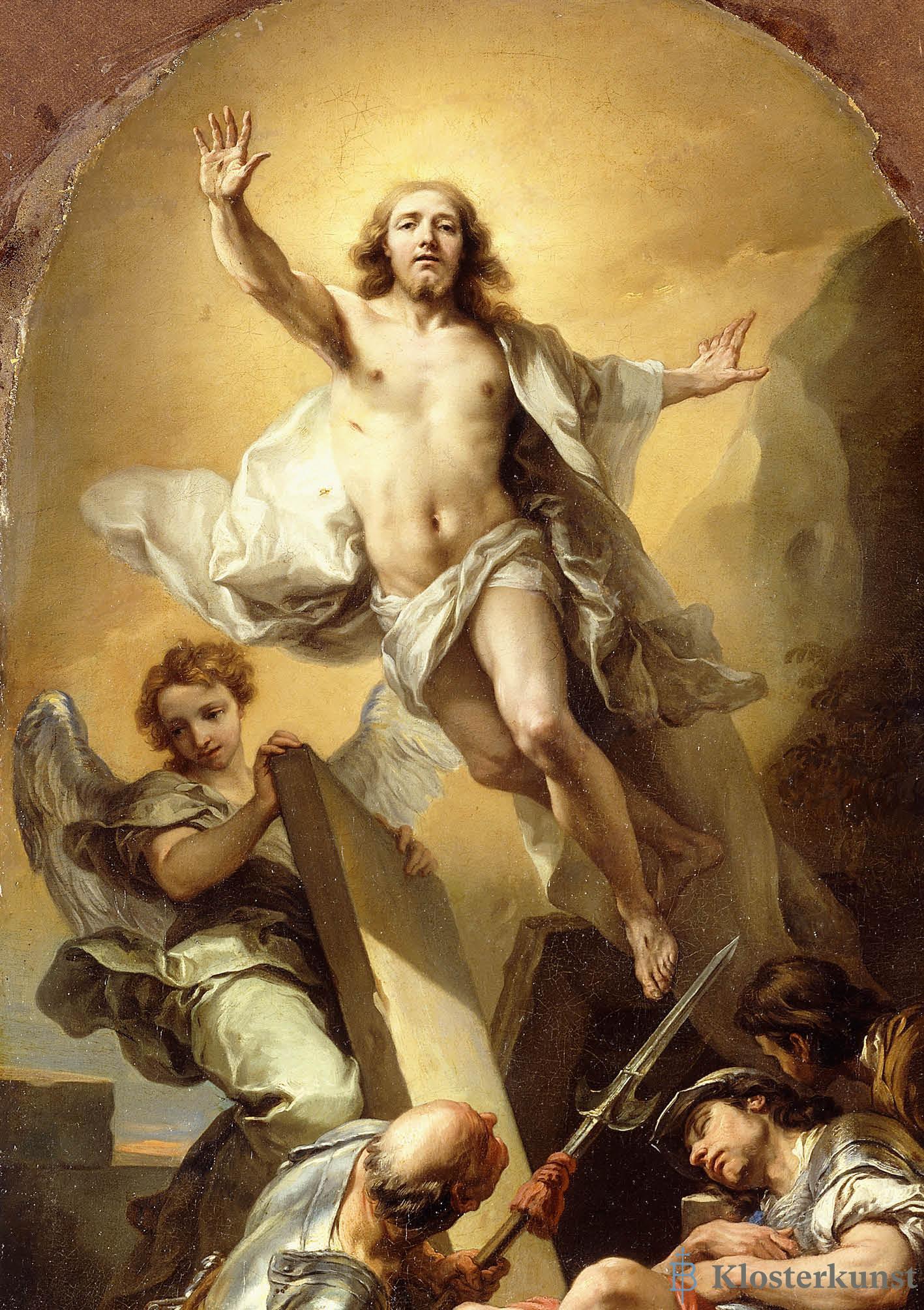 Klappkarte - Die Auferstehung