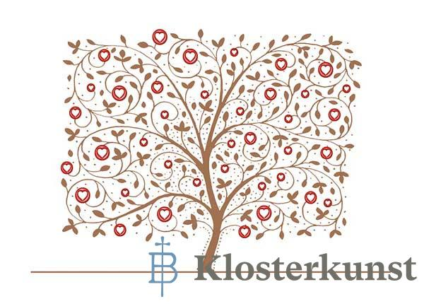 Premium-Klappkarte - Lebensbaum