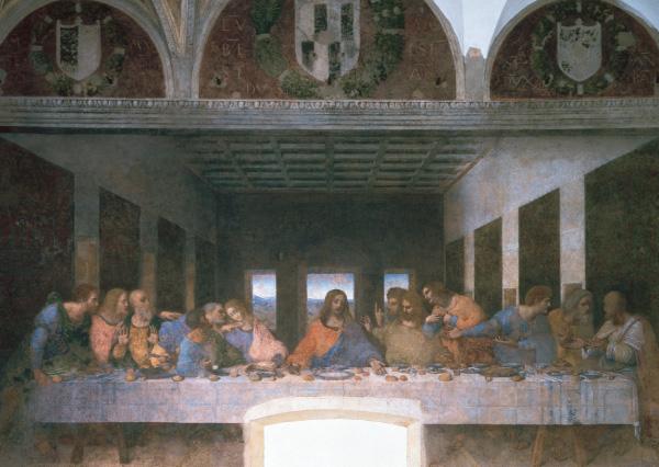 Klappkarte - Das letzte Abendmahl