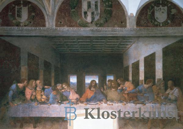 Kunstkarte - Das letzte Abendmahl