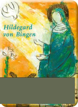 Deko-Magnet - Hildegard von Bingen