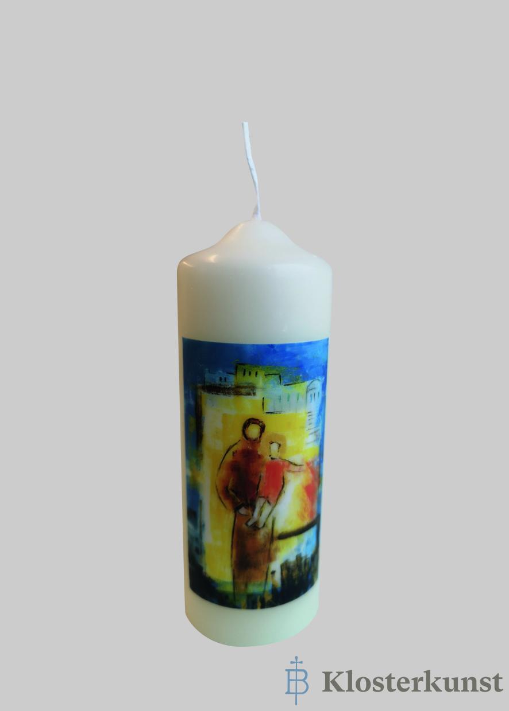 "Kerze - Heiliger Josef ""klein"""