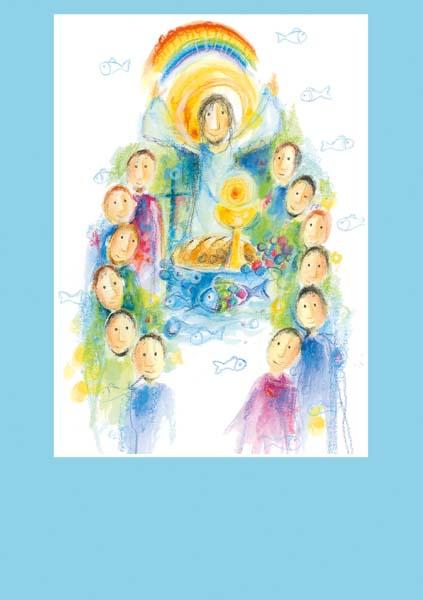 Pfarrbriefmantel - Jesus gibt mir Licht