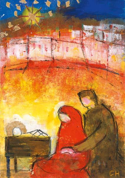 Kartenbox - Strahlende Weihnacht
