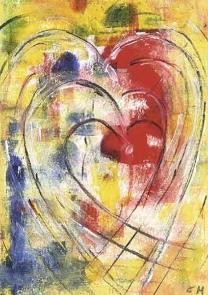 Klappkarte - Kreativität der Liebe