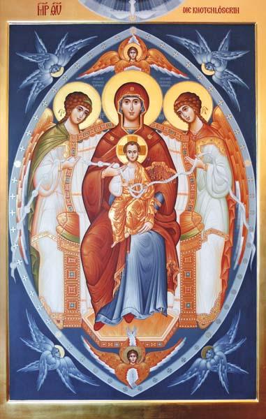Bildchen - Gottesmutter die Knotenlöserin