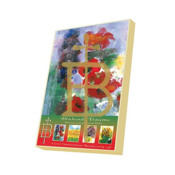 Kartenbox - Blühende Träume