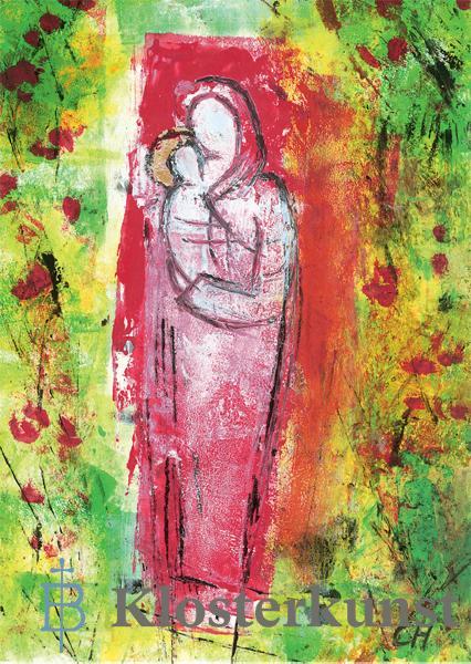 Kunstkarte - Mutter der schönen Liebe