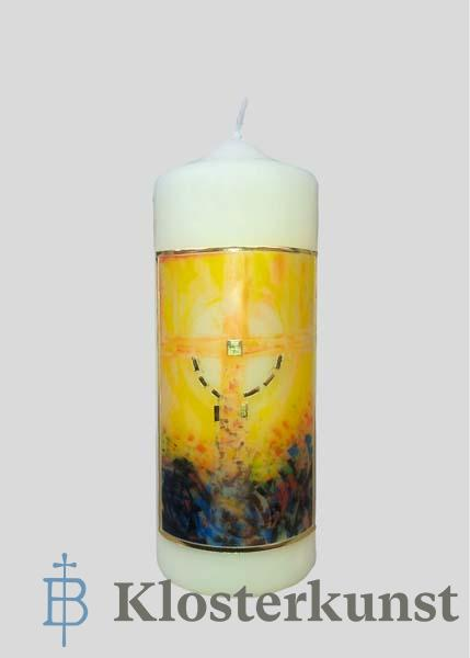 Kerze - Steht fest im Glauben