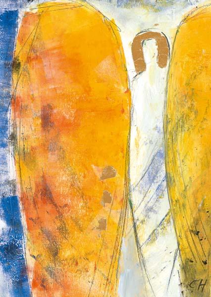 Kunst-Postkarte - Engel der Ruhe