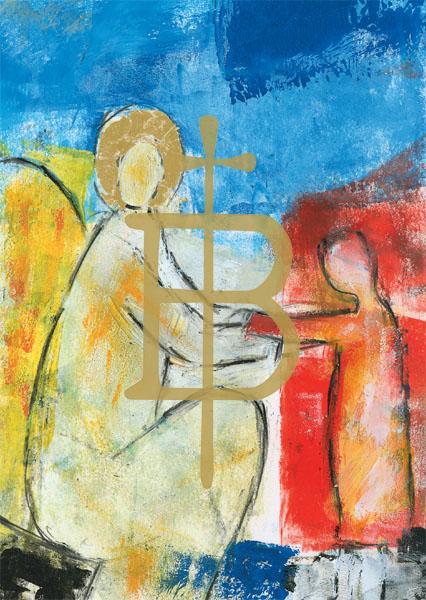 Kunstkarte - Engel der Zuneigung