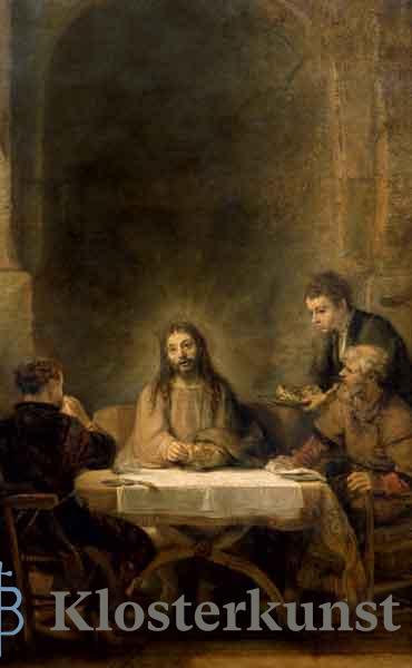 Bildchen - Christus in Emmaus