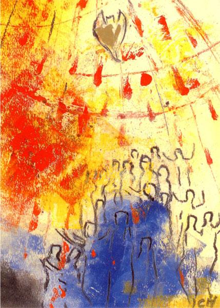 Kunstkarte - Netzwerk des Geistes
