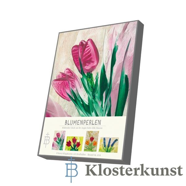 Kartenbox - Blumenperlen