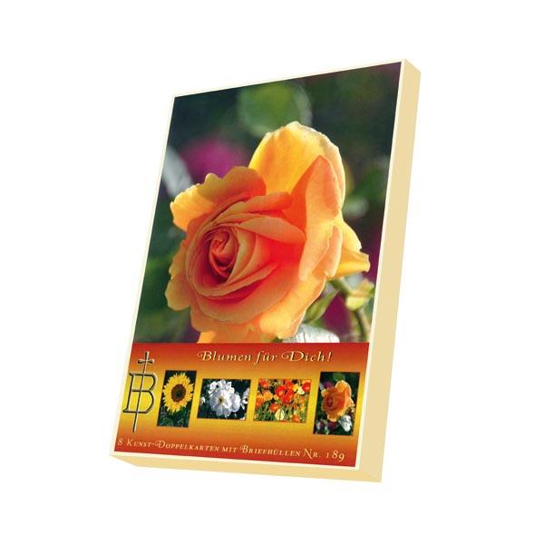 Kartenbox - Blumen für dich