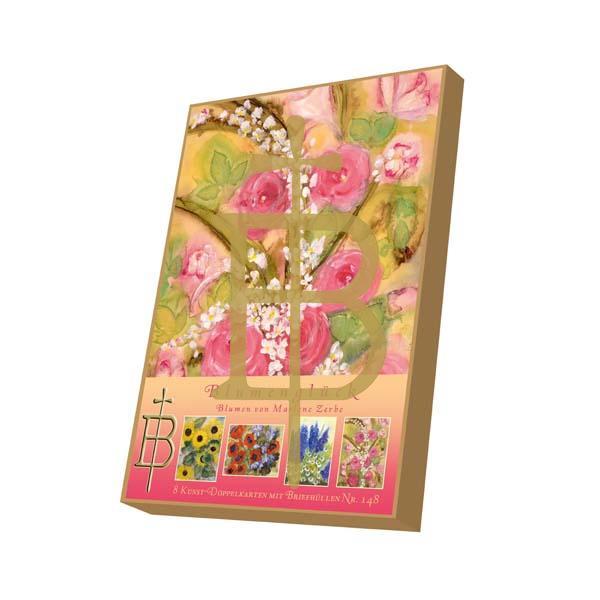 Kartenbox - Blumenglück