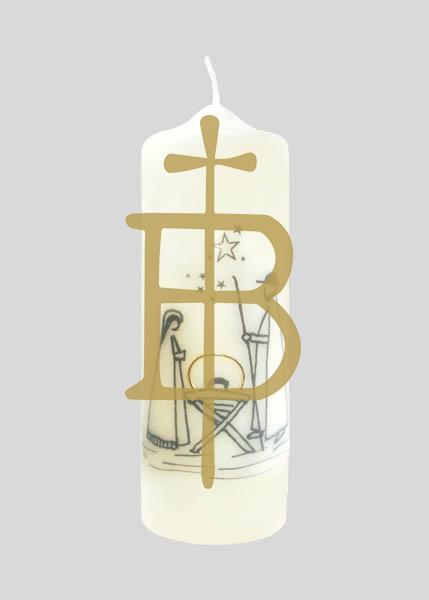 Kerze - Heilige Familie