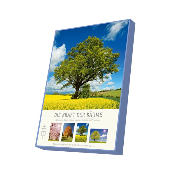 Kartenbox - Die Kraft der Bäume
