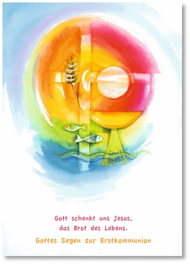 Klappkarte - Jesus, Brot des Lebens
