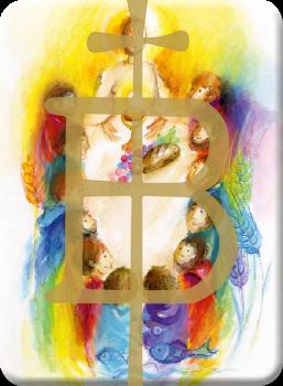 Deko Magnet - Jesus hat uns eingeladen