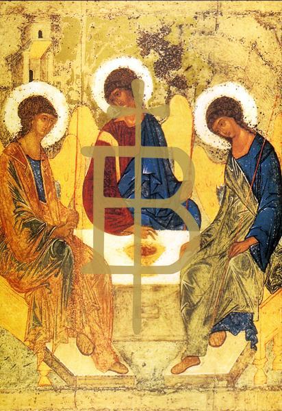 Klappkarte - Die heilige Dreifaltigkeit
