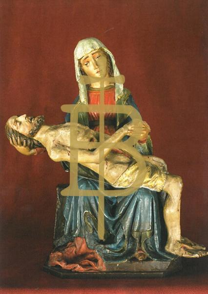 Kunstkarte - Gnadenbild im Altar der Gnadenkapelle