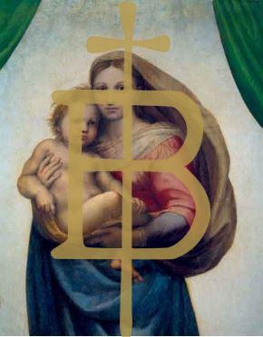 Klappkarte - Maria mit dem Kind