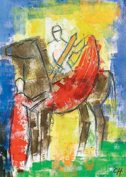 Kunstkarte - Heiliger Martin von Tours