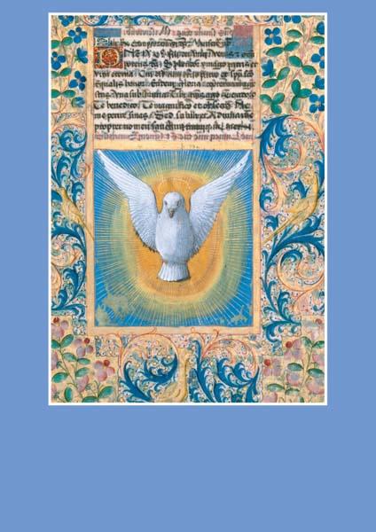 Pfarrbriefmantel - Die Taube des hl. Geistes