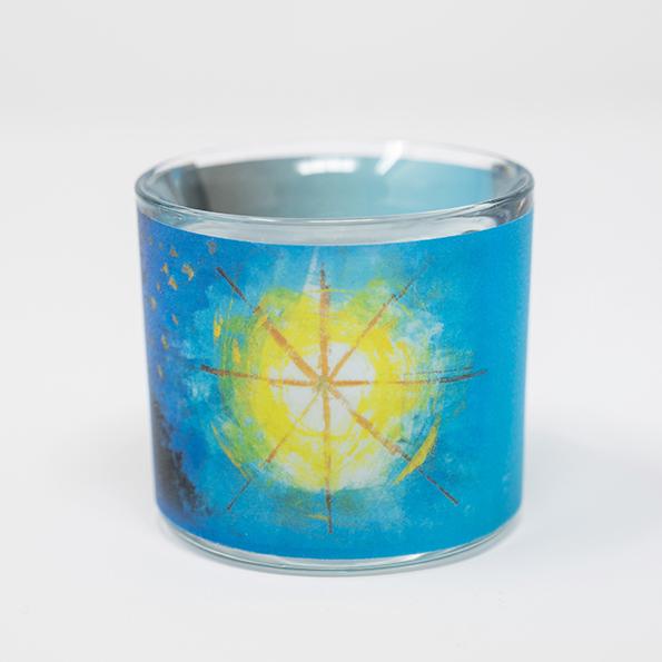 """Glaslicht - """"Friedensstern"""""""