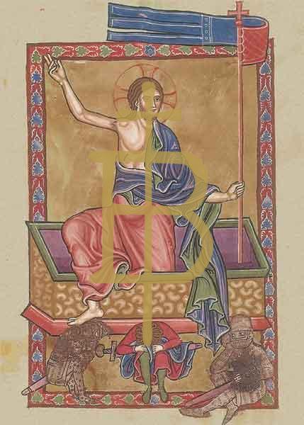 Kunstkarte - Auferstehung