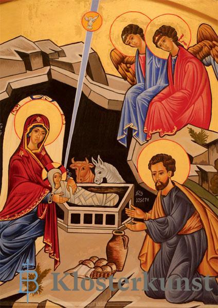 Klappkarte - Die Geburt Christi