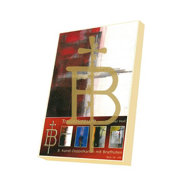 Kartenbox - Trauerkreuze
