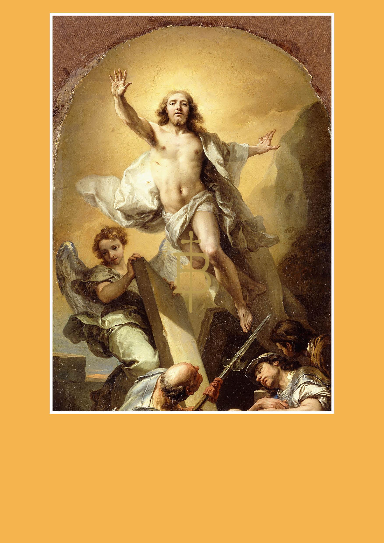 Pfarrbriefmantel - Die Auferstehung