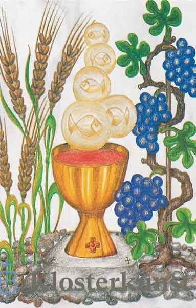 Bildchen - Die Gaben der Eucharistie